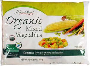 Nature's Place Organic Frozen Mixed Vegetables
