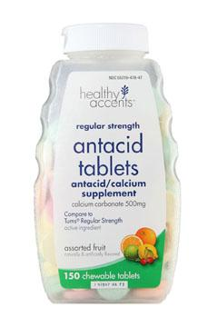 Healthy Accents Assorted Antacid Tablets