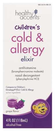 Healthy Accents Children's Cold & Allergy Elixer