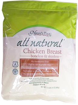Nature's Place Natural Chicken Breast