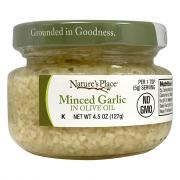 Nature's Place Minced Garlic in Extra Virgin Olive Oil