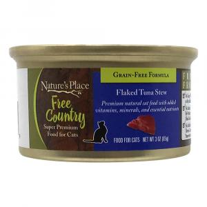 Nature's Place Free Country Flaked Tuna Stew Cat Food