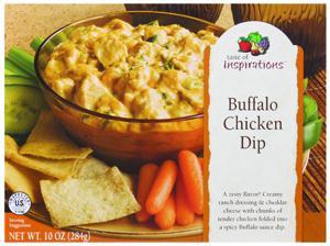 Taste Of Inspirations Buffalo Chicken Dip