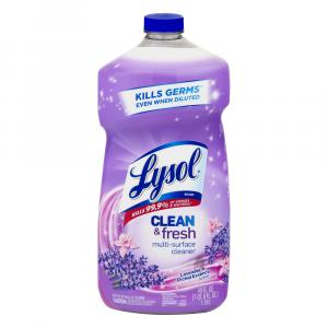 Lysol Clean and Fresh Multi-Surface Cleaner Lavender Orchid