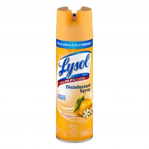 Lysol Citrus Meadows Disinfectant Spray