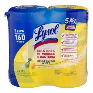 Lysol Citrus Scent Disinfectant Wipes