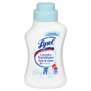 Lysol Laundry Sanitizer Free & Clear