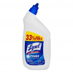 Lysol Power Toilet Bowl Cleaner Bonus