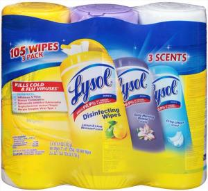 Lysol Disinfecting Wipes Assorted Scents