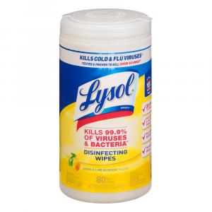 Lysol Citrus Scent Sanitizing Wipes
