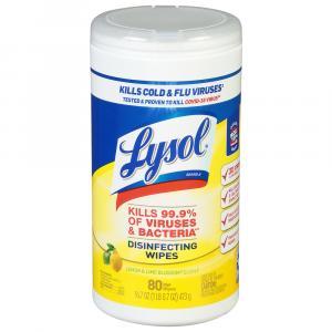Lysol Citrus Scent Sanitizing Wipes