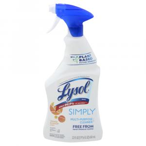 Lysol Simply Multi-Purpose Cleaner Orange Blossom Spray