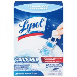 Lysol Click Gel Automatic Toilet Bowl Cleaner Atlantic Fresh