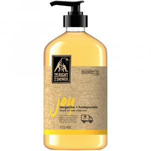 The Right to Shower Joy Tangerine + Honeysuckle Cleanser