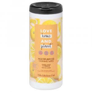 Love Home and Planet Citrus Yuzu & Vanilla