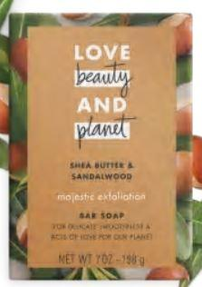 Love beauty and planet Shea Butter Soap Bar