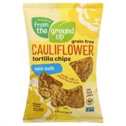 From The Ground Up Cauliflower Sea Salt Tortilla Chips