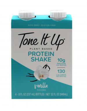 Tone It Up Vanilla Plant Based Protein Shake