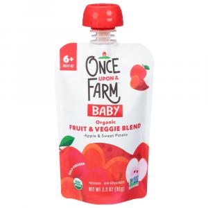 Once Upon A Farm Organic Apple Sweet Potato