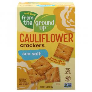 From The Ground Up Cauliflower Sea Salt Cracker