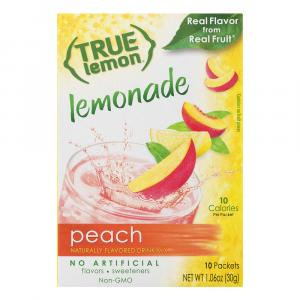 True Lemon Peach Lemonade Powder Drink Mix
