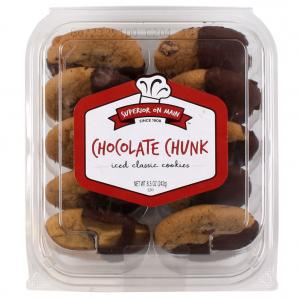 Superior on Main Chocolate Chunk Iced Cookies