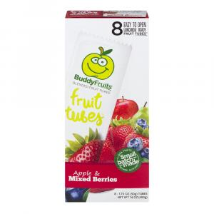 Buddy Fruits Tubes Apple & Mixed Berries