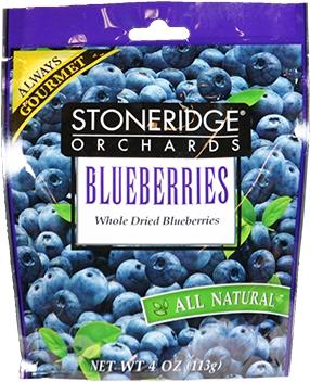 Stoneridge Orchards Whole Dried Blueberries