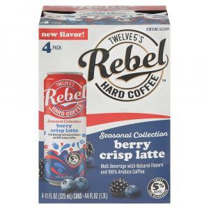 Brown Bomber Twelve5's Rebel Hard Coffee Pumpkin Spice Latte