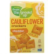 From The Ground Up Cauliflower Cheddar Cracker