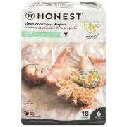 Honest Gentle + Absorbent Panda Diapers Size 6