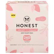 Honest Nourish & Cleanse Sweet Almond Plant-Based Wipes