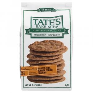 Tate's Gluten Free Ginger Zinger Cookies