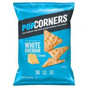 PopCorners Popped Corn Snacks White Cheddar