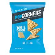 PopCorners Popped Corn Snacks White Cheddar