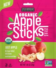 Stoneridge Orchards Organic Crispy Dried Apple Sticks