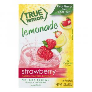 True Lemon Strawberry Lemonade Flavored Drink Mix