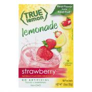True Lemon Strawberry Lemonade Flavored Drink Mix