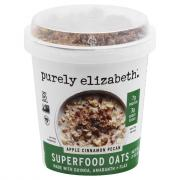 Purely Elizabeth Super Food Apple Cinnamon Oatmeal Cup