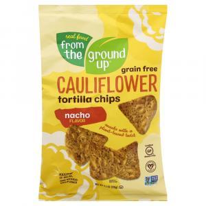 From The Ground Up Cauliflower Nacho Tortilla Chips