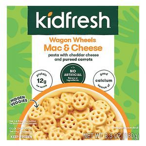 Kidfresh Wagon Wheels Mac & Cheese
