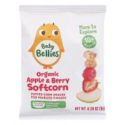 Baby Bellies Organic Apple & Berry Softcorn Snacks