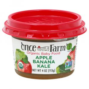 Once Upon A Farm Organic Apple Banana Kale