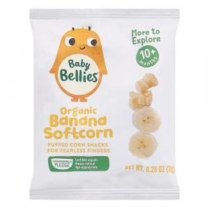 Baby Bellies Organic Banana Softcorn Snacks