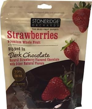 Stoneridge Orchards Strawberries Dipped In Dark Chocolate