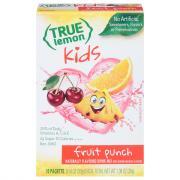 True Lemon Kids Fruit Punch Sticks
