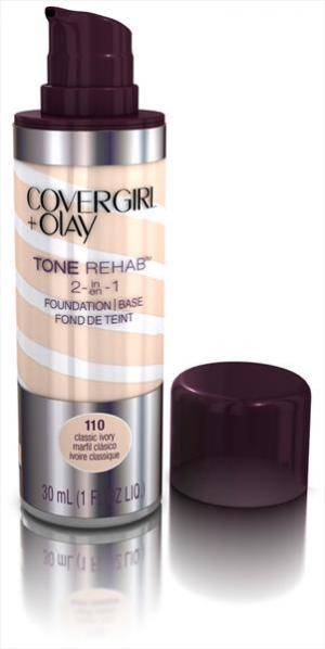 Covergirl Olay Foundation Tonerehab Classic Ivory