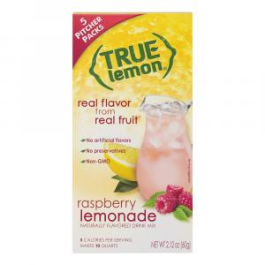 True Lemon Raspberry Lemonade Naturally Flavored Drink Mix