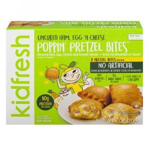 Kidfresh Poppin Bites Ham Egg N Cheese