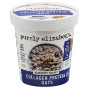 Purely Elizabeth Collagen Protein Oats Blueberry Walnut Cup